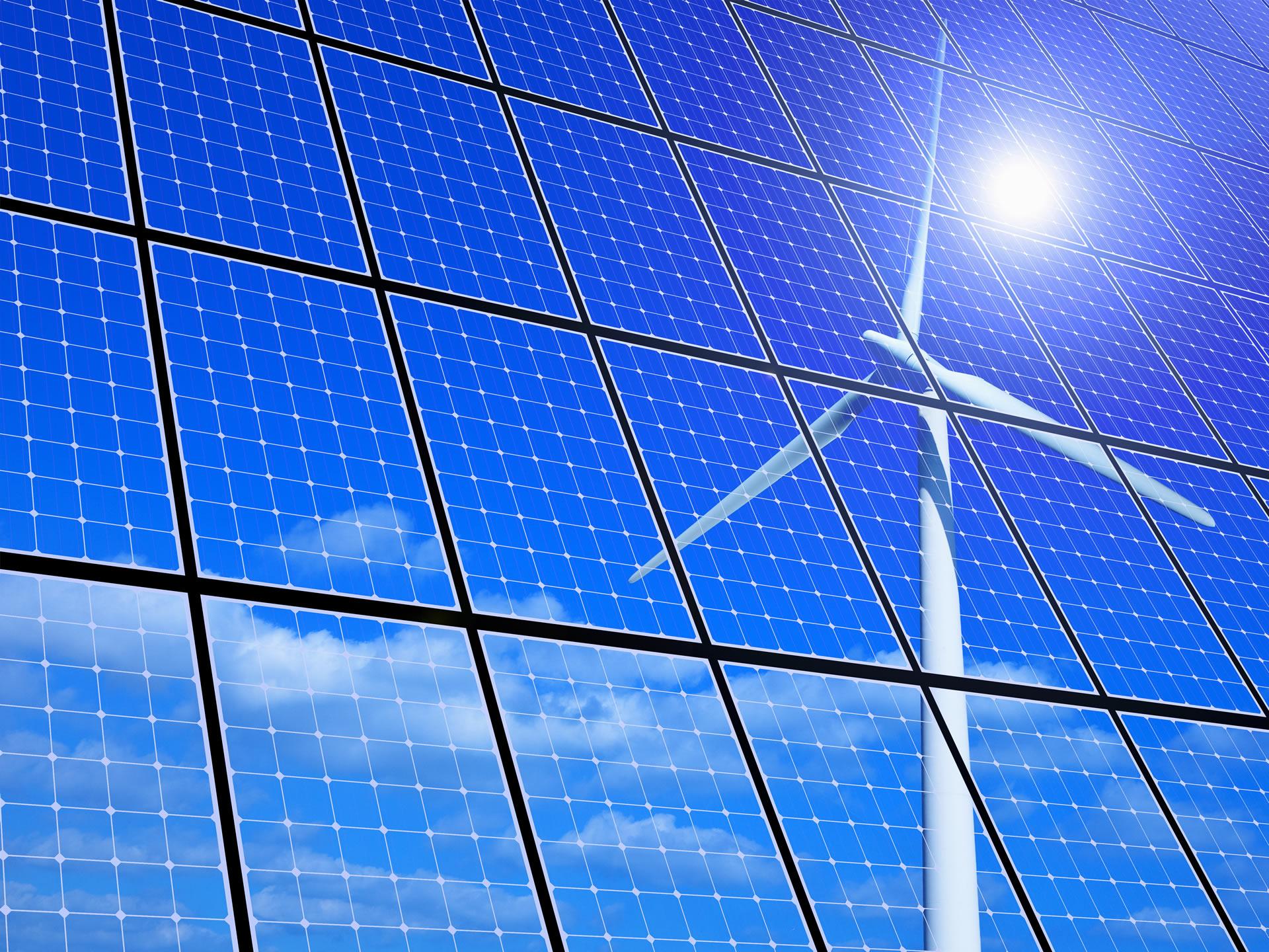 solar panel test
